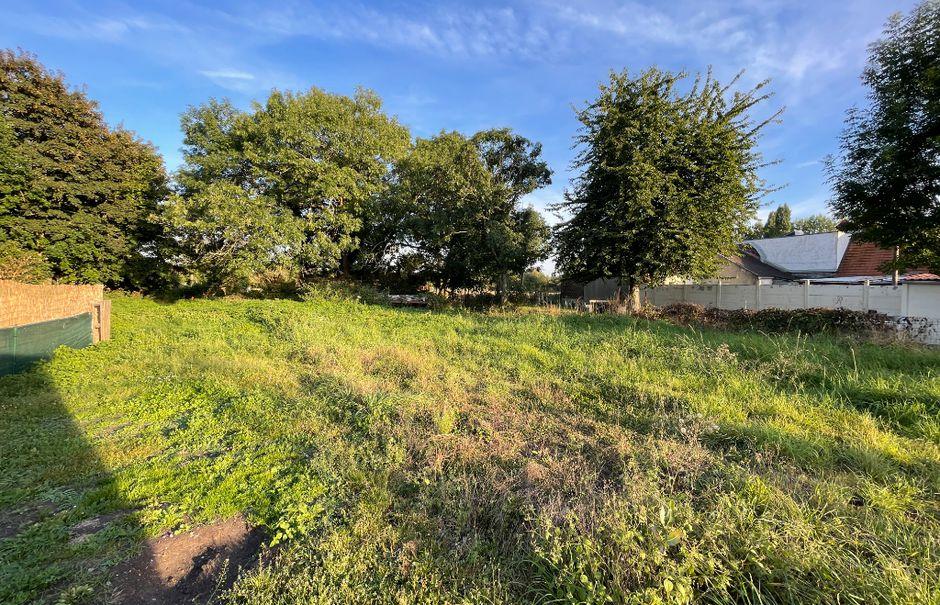 Vente terrain  706 m² à Flers-en-Escrebieux (59128), 93 490 €