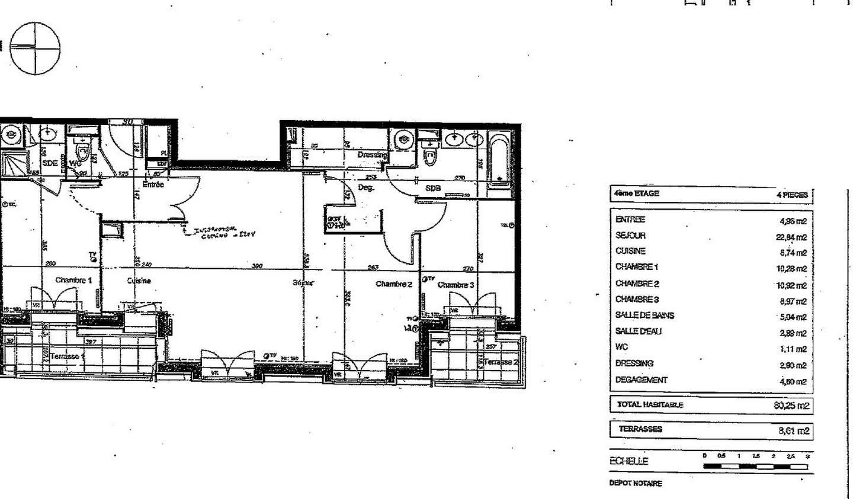 Appartement avec terrasse Antony