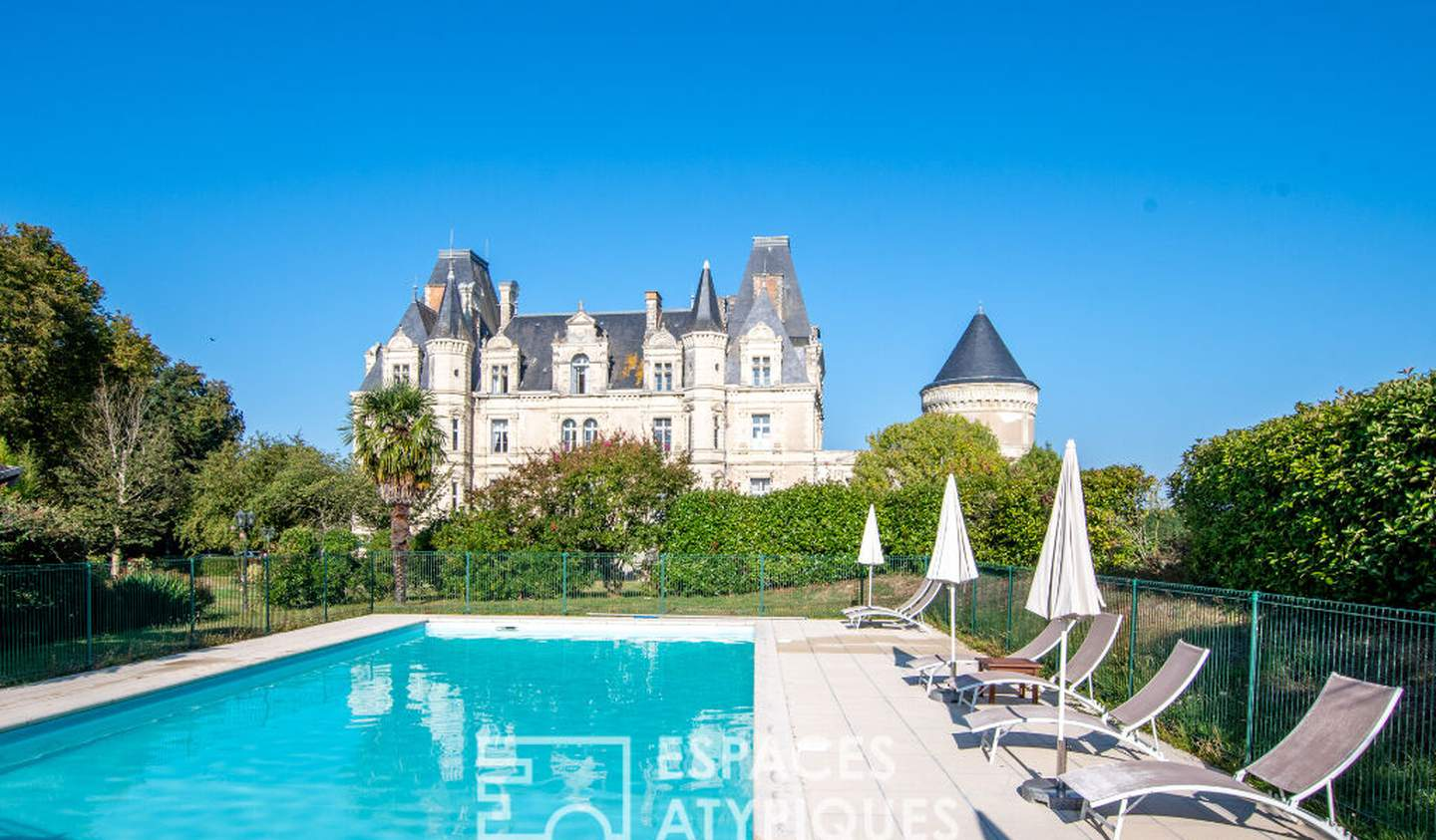 House with pool Cholet