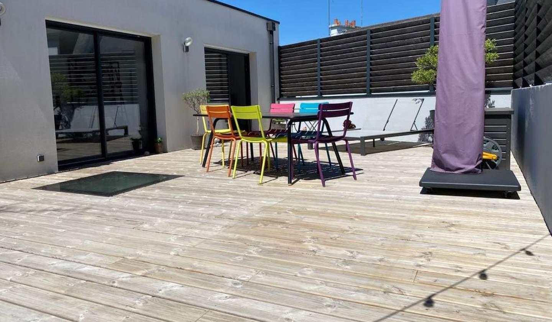 Loft avec terrasse et vue panoramique Lorient