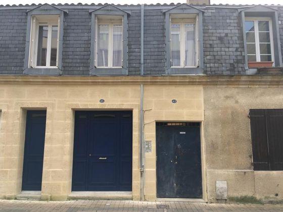 vente Appartement 3 pièces 48 m2 Bordeaux