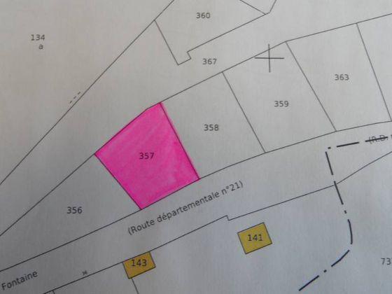 Vente terrain 644 m2