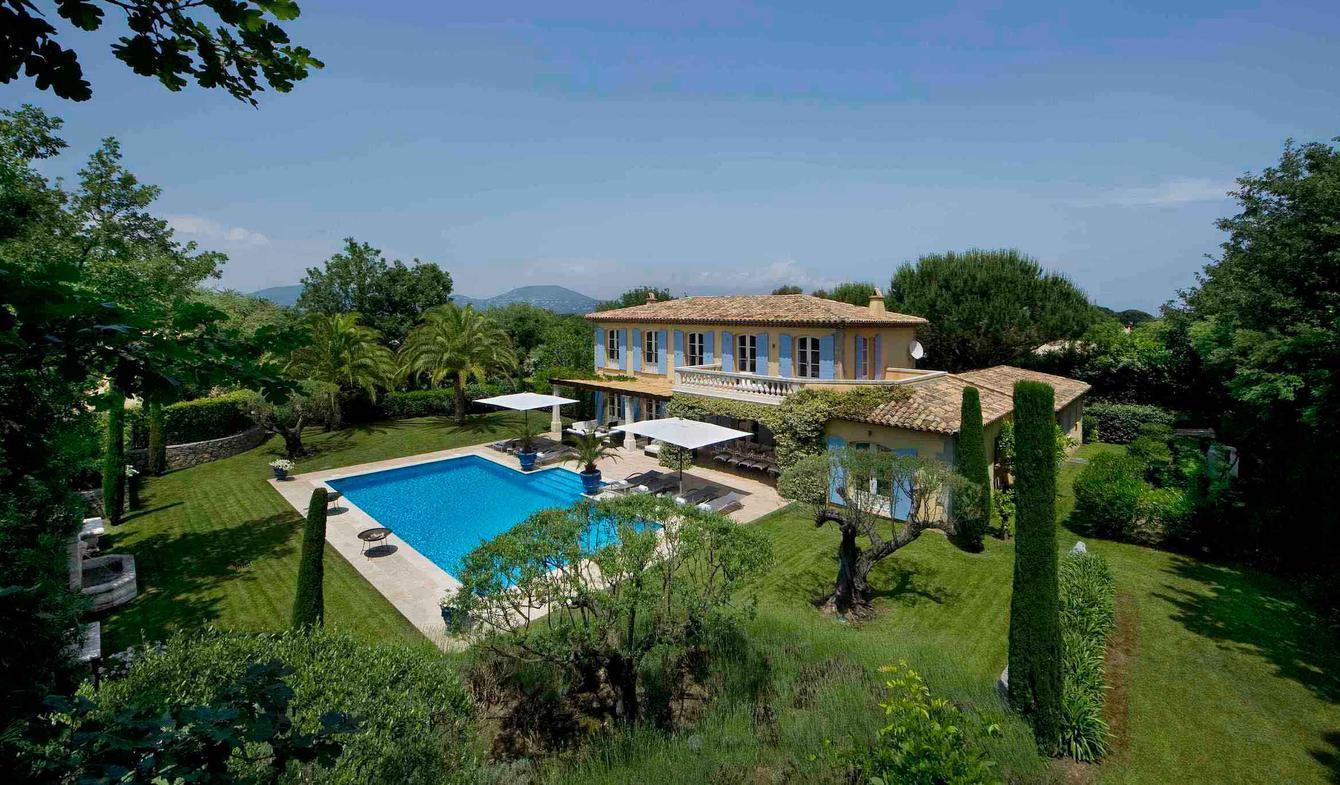 Seaside villa with pool Saint-Tropez
