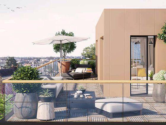 vente Appartement 3 pièces 71,34 m2 Nantes