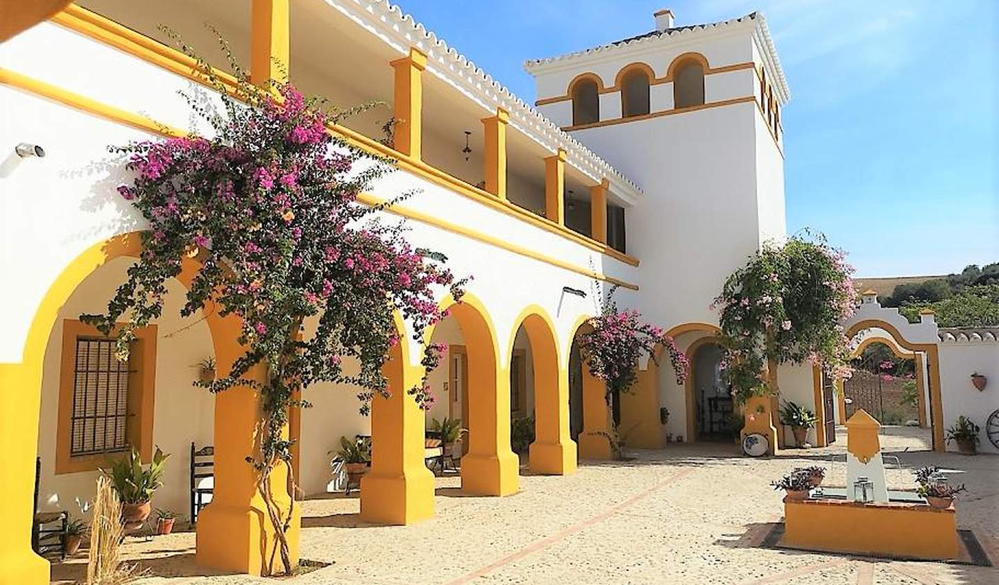 Hotel with garden and reception room Spain