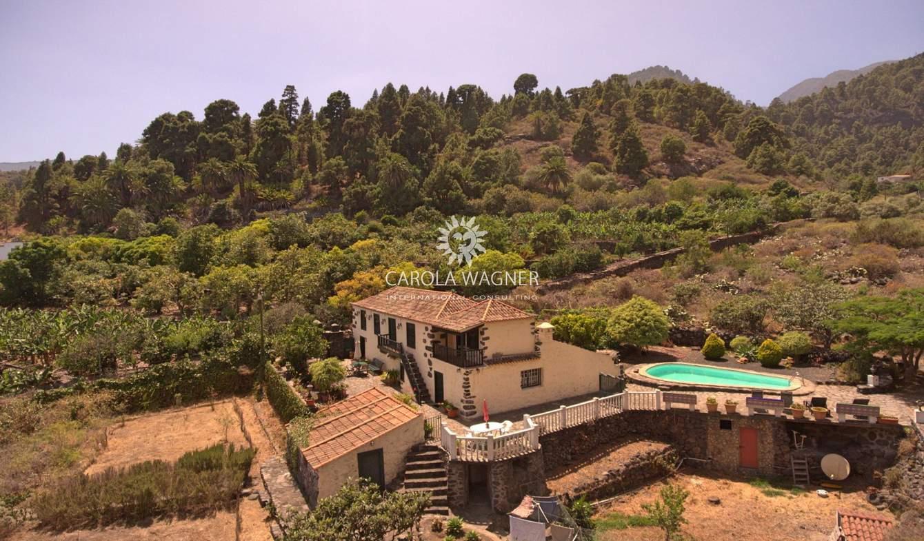 Maison avec piscine et terrasse Santa Cruz de La Palma