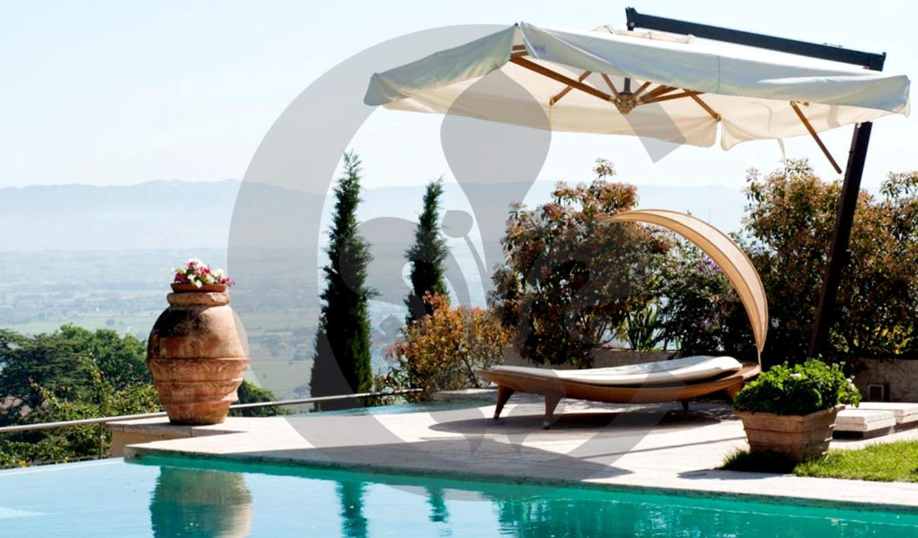 Villa avec piscine et jardin Montepulciano