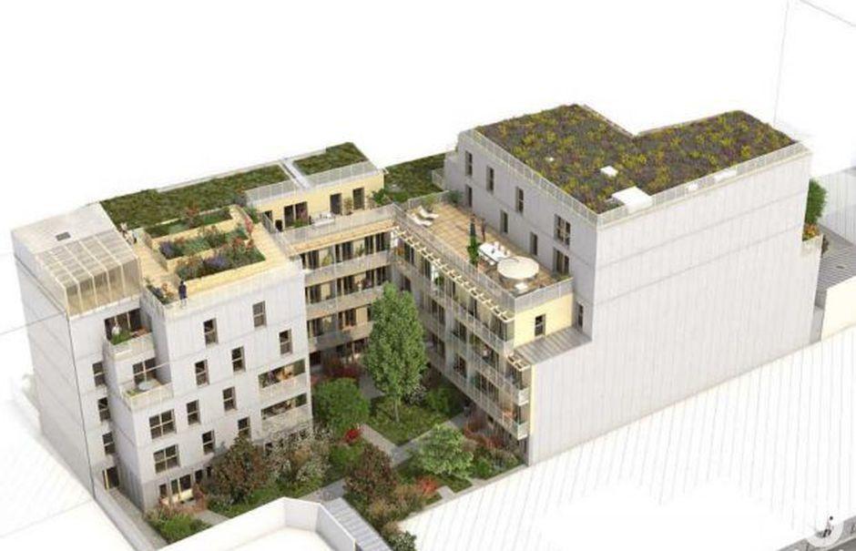 Vente appartement 2 pièces 41 m² à Paris 20ème (75020), 505 000 €