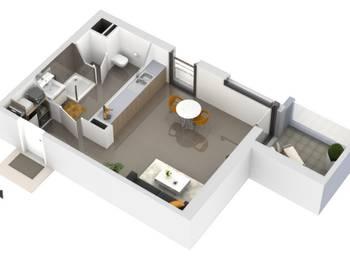 Studio 28,8 m2