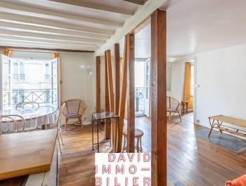 Appartement meublé 2 pièces 42,63 m2