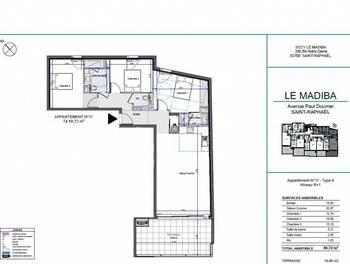 Appartement 4 pièces 89,72 m2