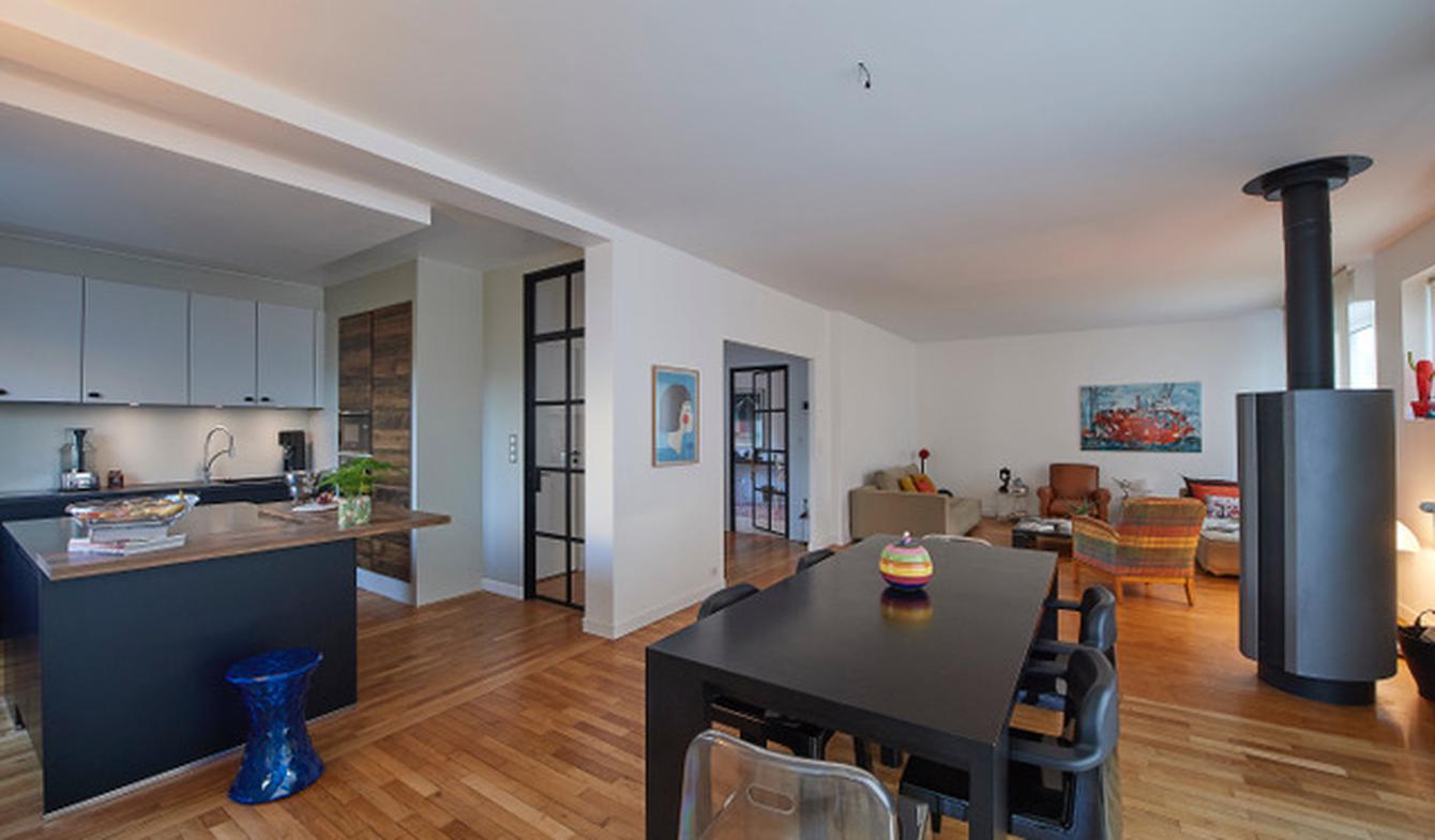 Maison contemporaine avec jardin et terrasse Lorient