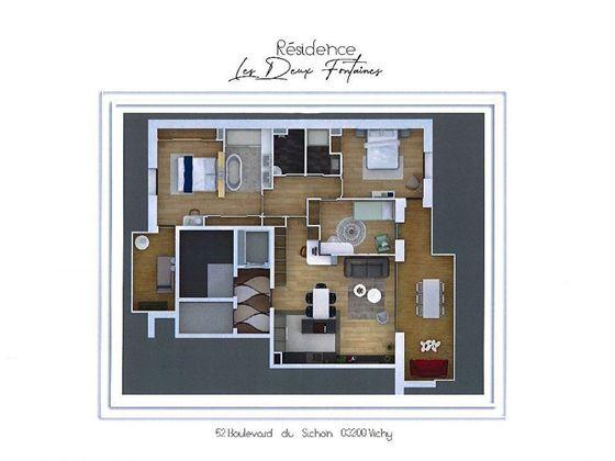 Vente appartement 6 pièces 141,91 m2