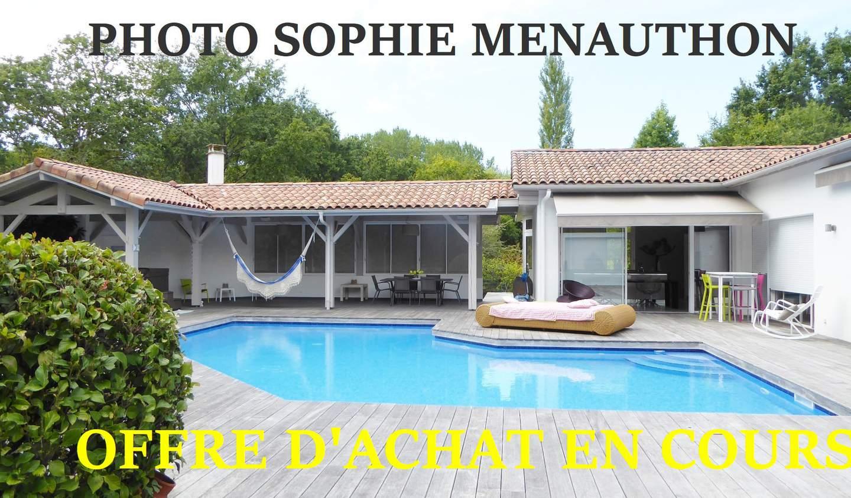 Maison avec piscine et terrasse Vielle-Saint-Girons