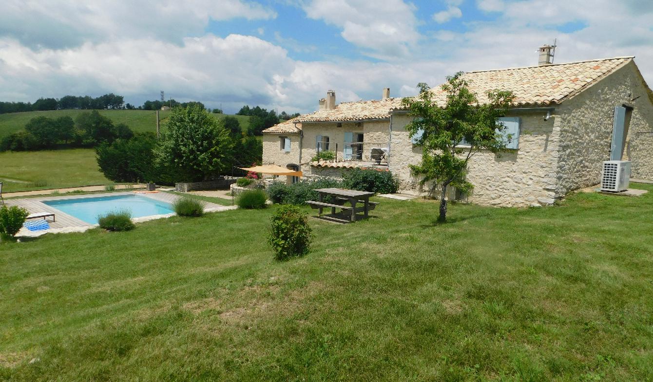 Maison avec piscine Banon