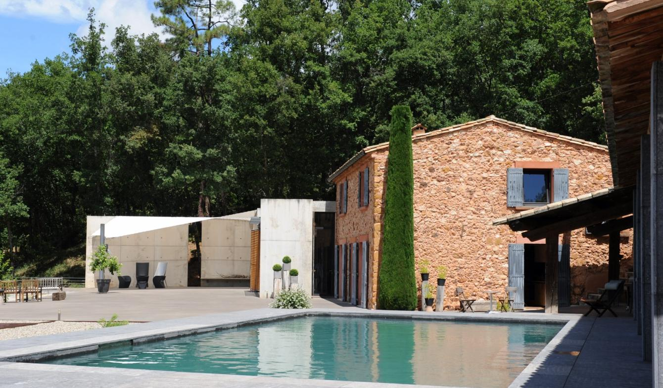 House with garden Roussillon