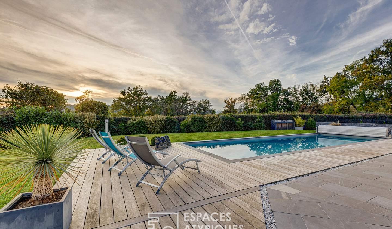 Maison avec piscine et terrasse Chapeiry