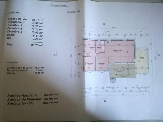 Vente terrain à bâtir 1227 m2
