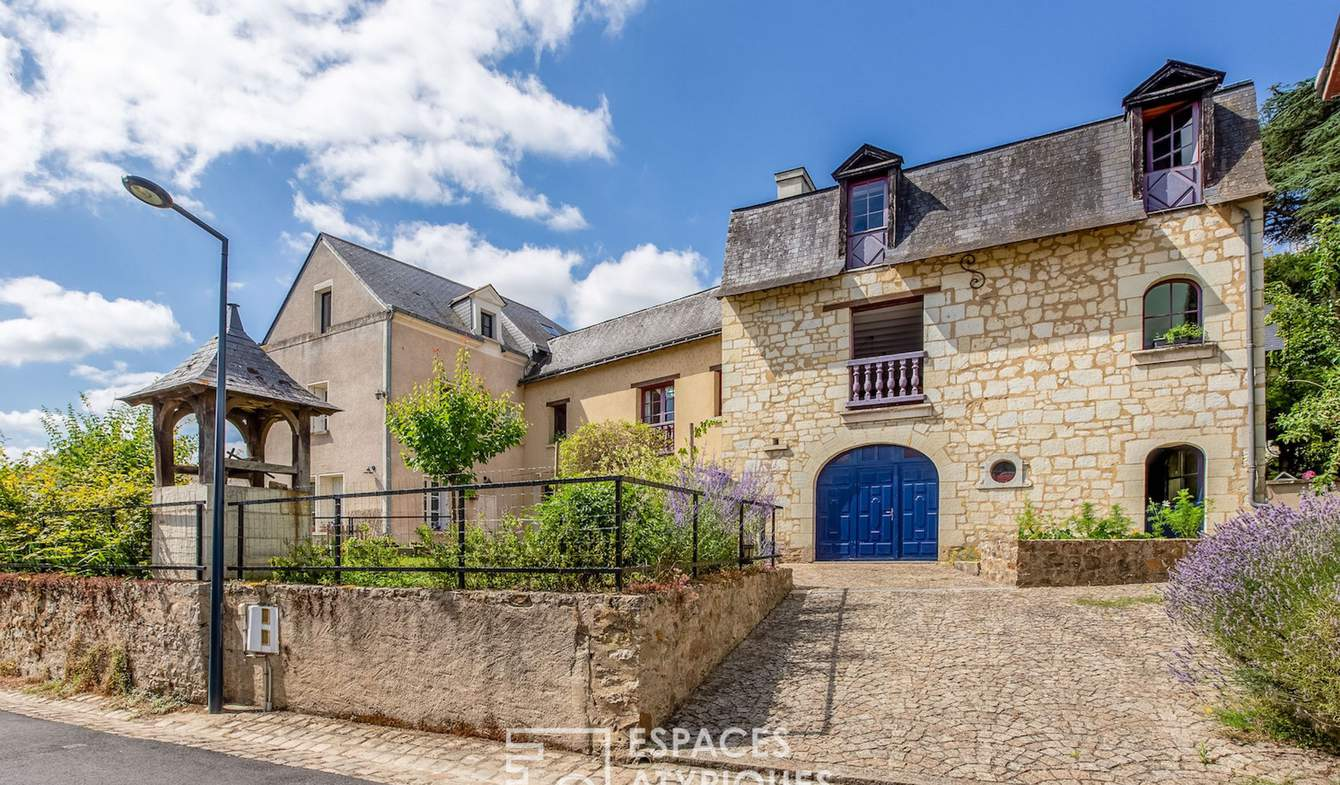 Maison avec piscine et terrasse Gennes