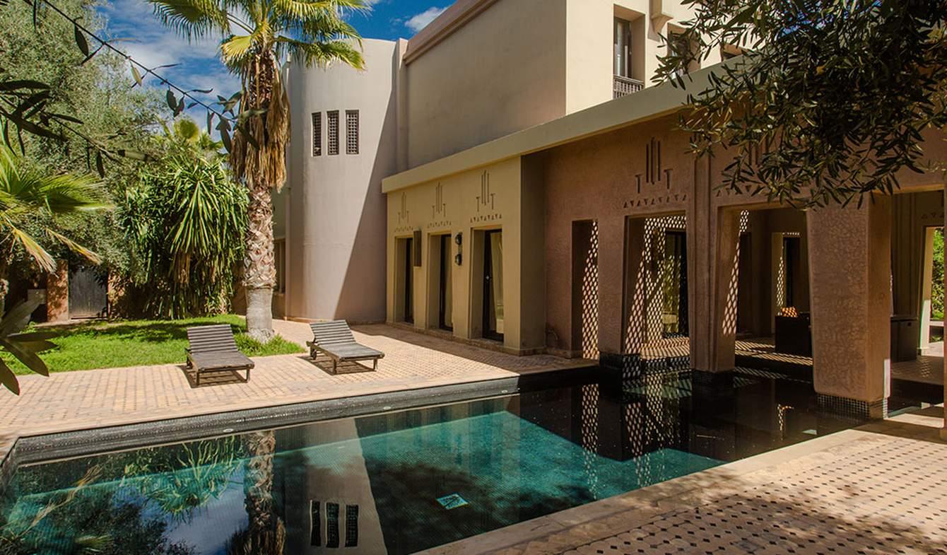 Hôtel particulier avec jardin et salle de réception Marrakech