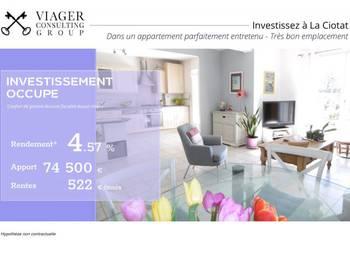 Viager 3 pièces 73 m2