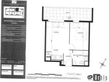 Appartement 2 pièces 36,78 m2