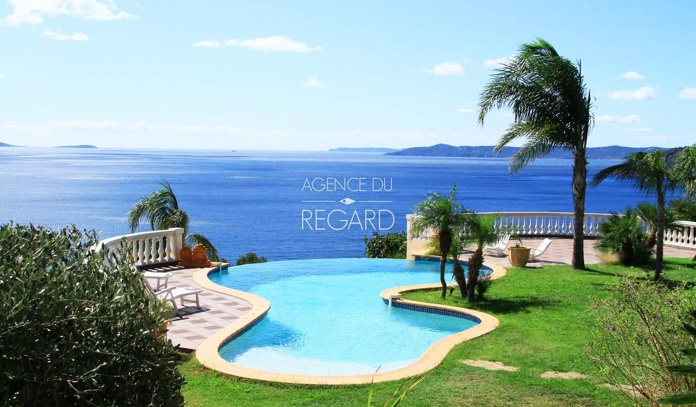 Propriété avec piscine en bord de mer Rayol-Canadel-sur-Mer