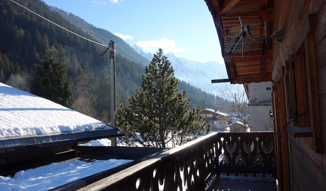 Apartment with terrace Argentiere