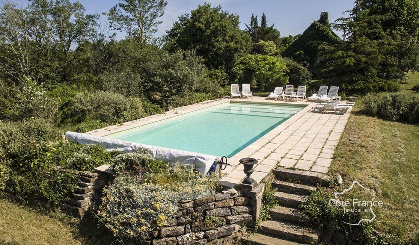 Maison avec piscine Saint-Antonin-Noble-Val