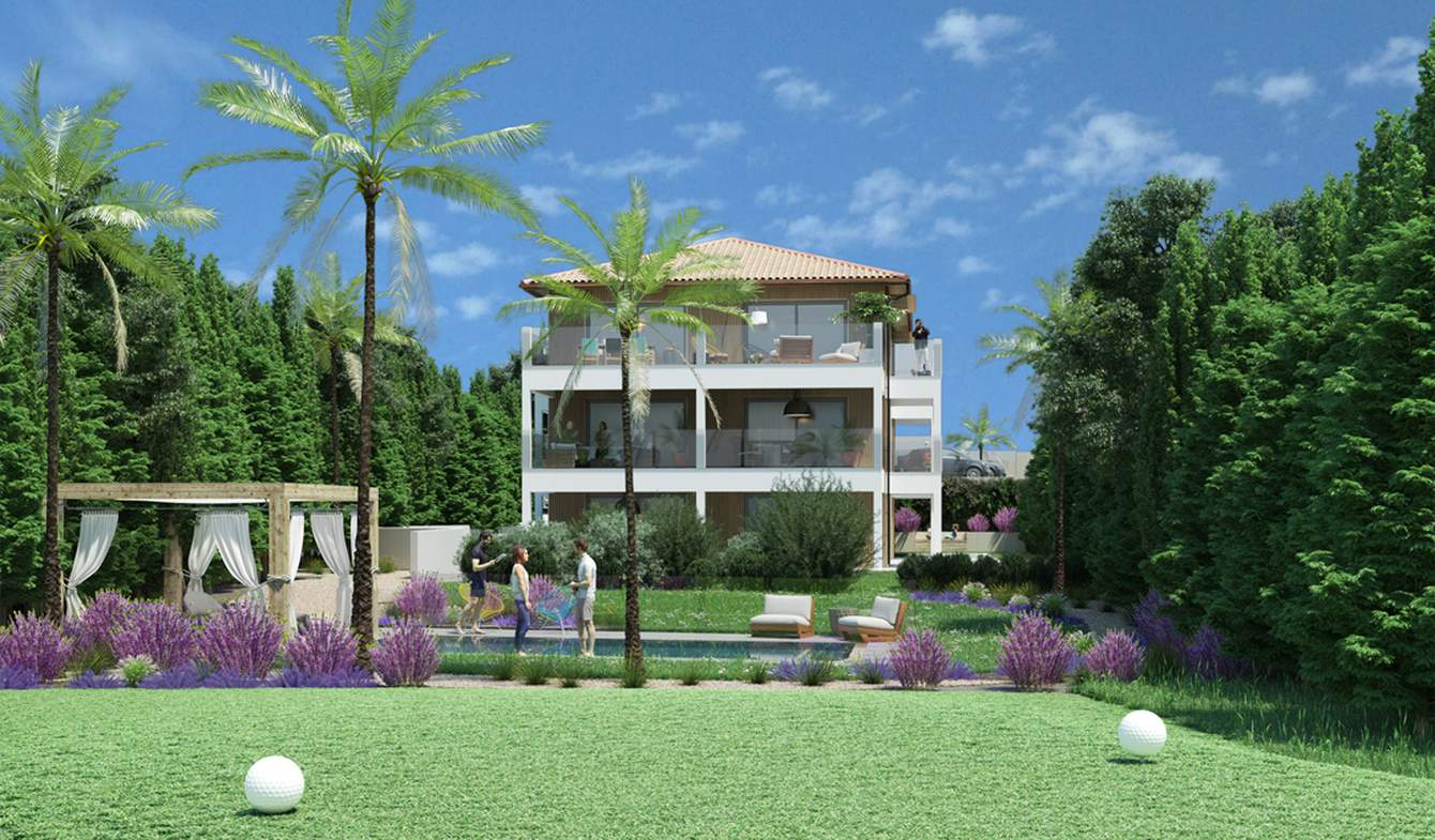 Appartement contemporain avec terrasse et piscine Anglet