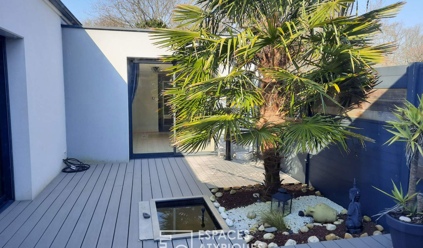House with terrace Mesquer