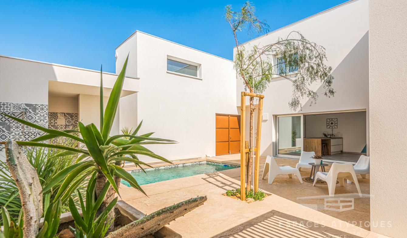 House with pool and terrace Perpignan