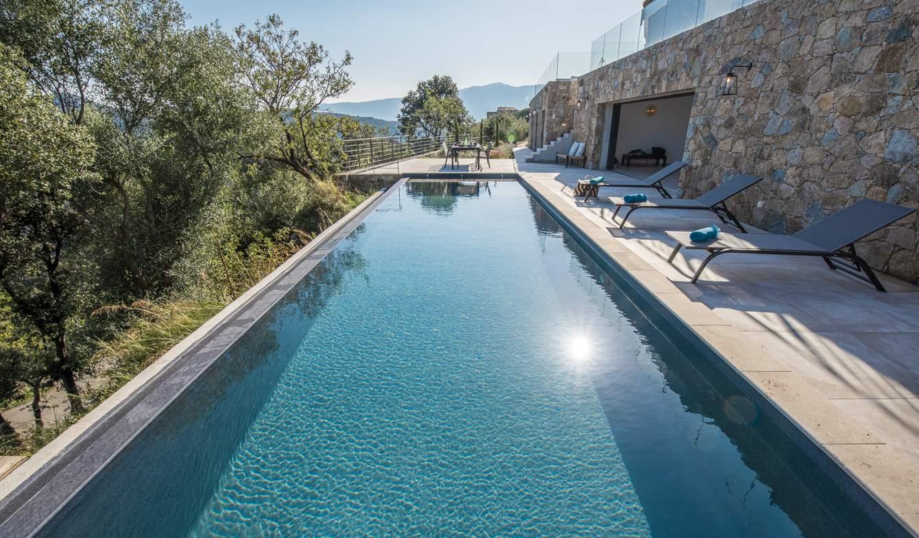 Villa with pool and garden SANTA REPARATA DI BALAGNA
