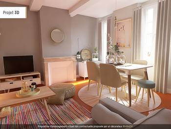 Appartement 3 pièces 54,66 m2