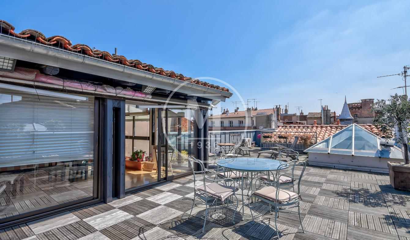 Apartment with terrace Toulouse