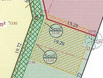 Terrain 589 m2