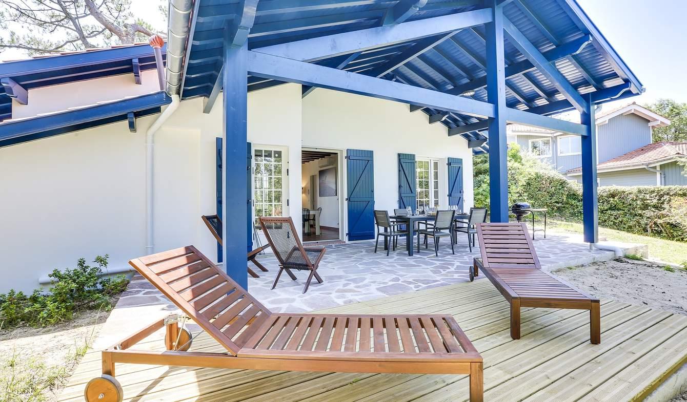 Villa en bord de mer avec jardin Soorts-Hossegor