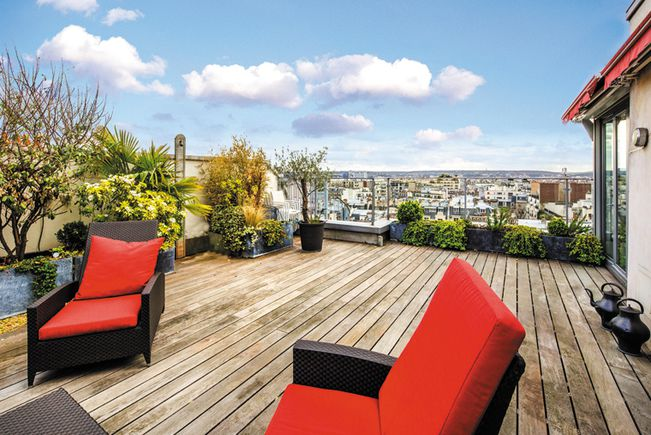 Appartement de luxe paris 16e achat et vente d for Appartement paris 12 terrasse