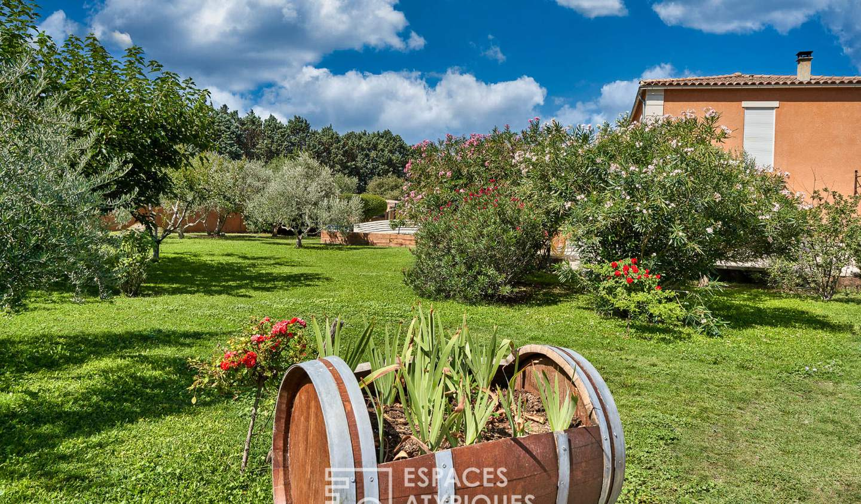 Maison avec piscine et terrasse Rochefort-du-Gard