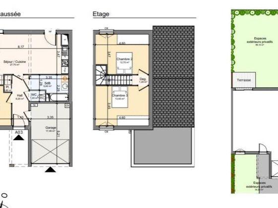 Vente maison 4 pièces 79,9 m2