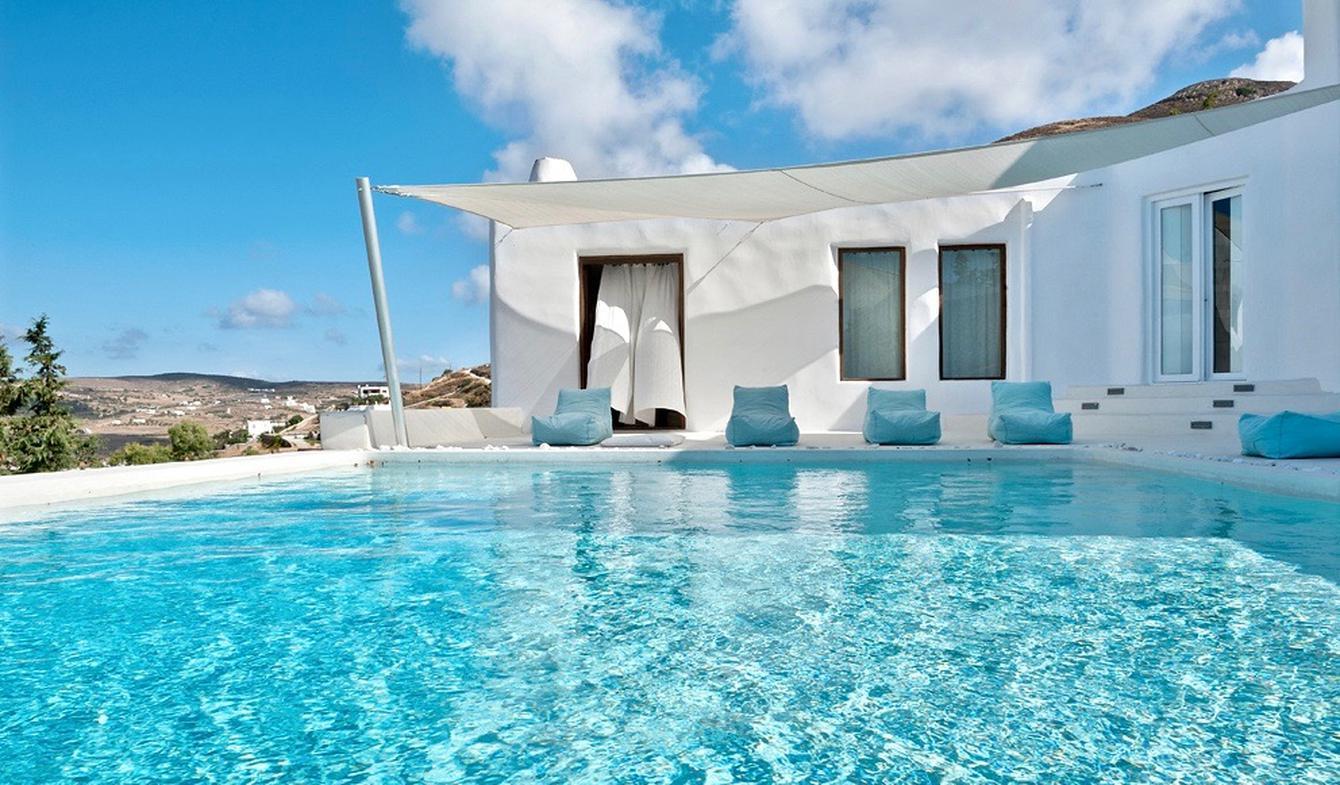 Villa avec piscine et jardin Parikiá
