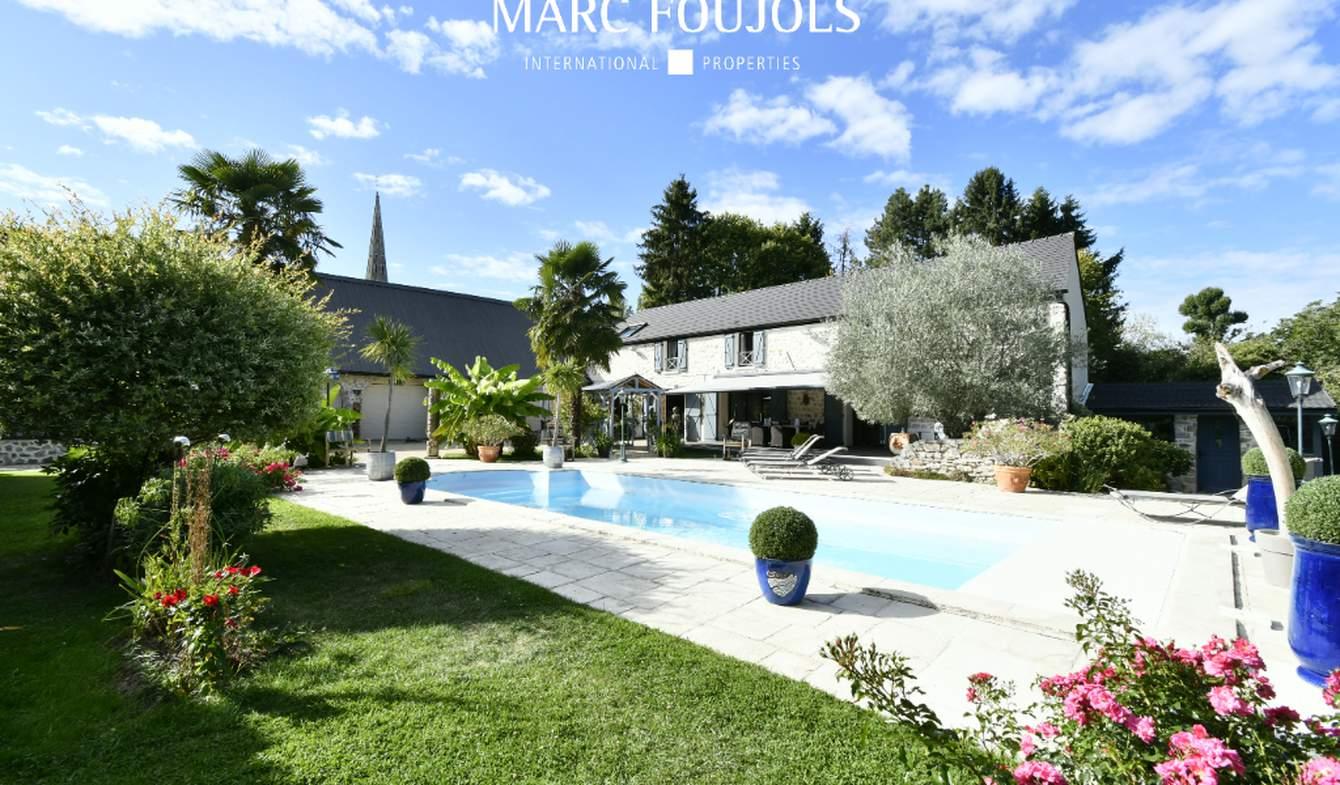 House with pool Nanteuil-le-Haudouin