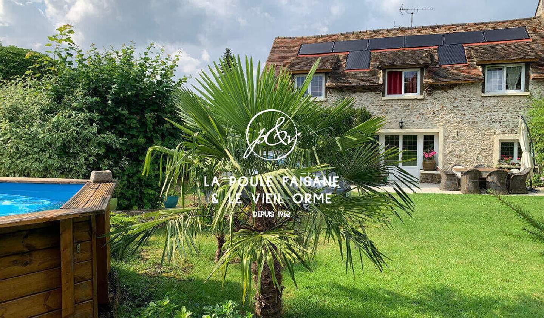 Maison avec piscine Condé-sur-Vesgre
