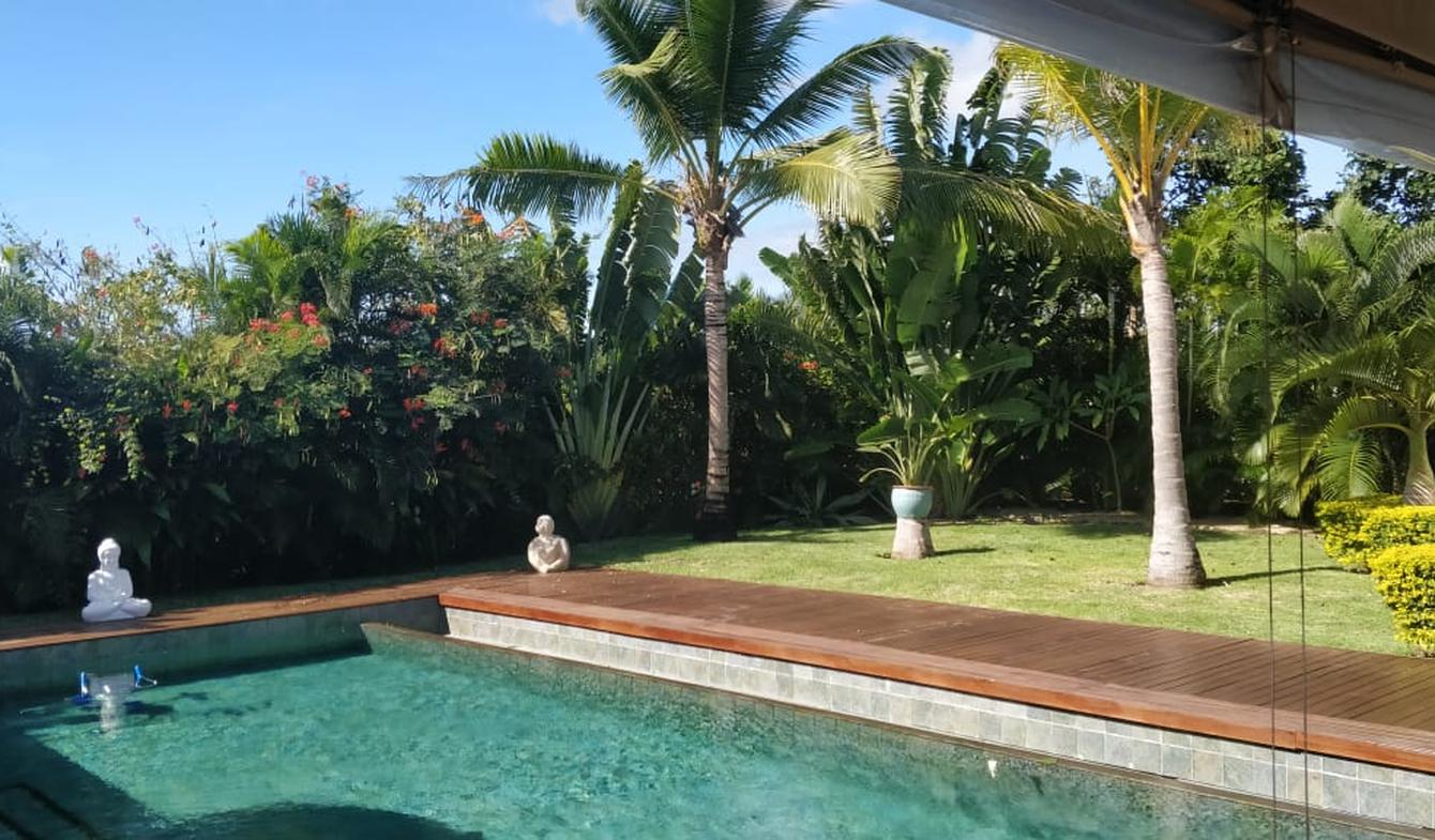 Villa avec piscine et jardin Grand Baie