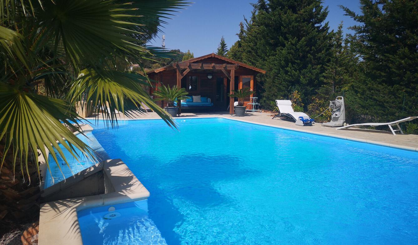 Villa avec piscine et terrasse Saint-André-de-Roquelongue