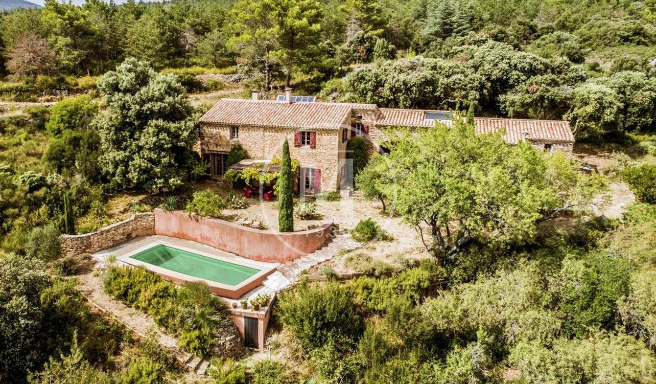 House with pool and terrace Félines-Minervois