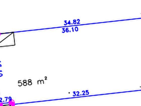 Vente terrain 588 m2