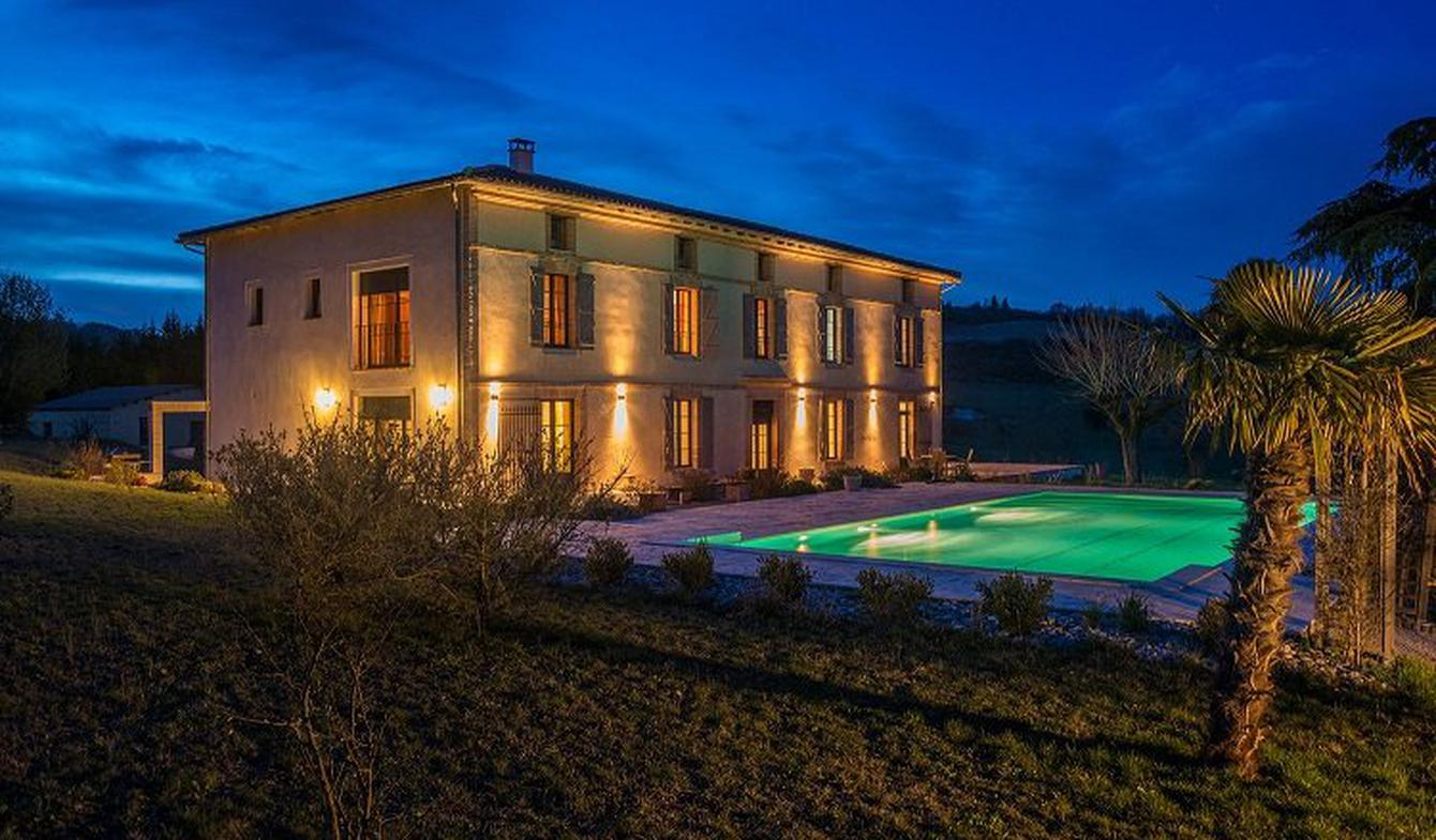 House with pool and terrace Gaillac