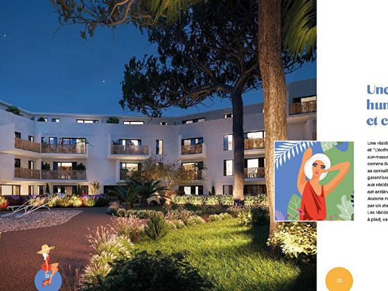 Vente appartement 2 pièces 50,3 m2
