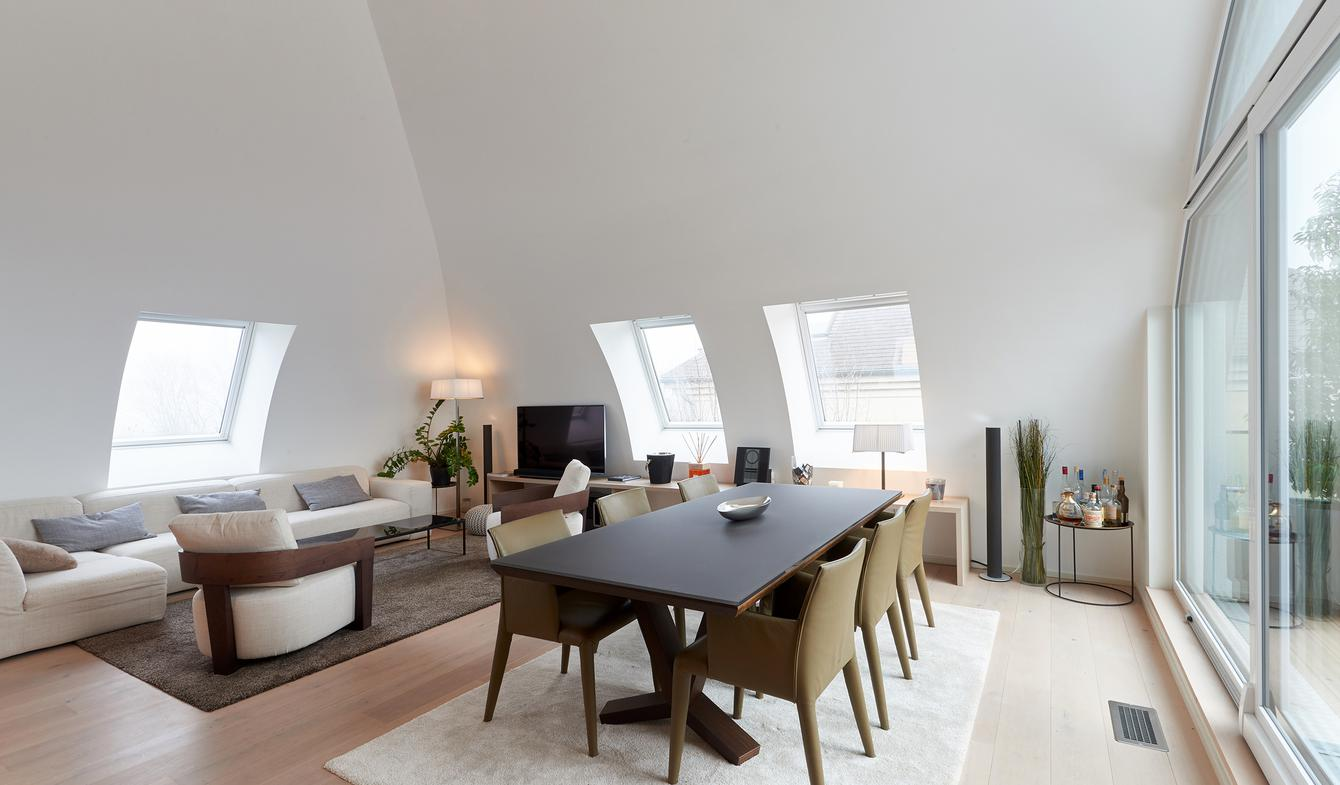 Apartment with terrace Kirchberg